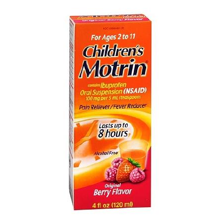 MOTRIN ORAL 100MG/5ML