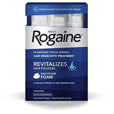 WOMEN'S ROGAINE FOAM 5% 5 %/W/W