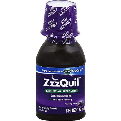 ZZZQUIL SLEEP AID NIGHTIM 50MG/30ML